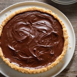 - Cashew Tart with Chocolate Pie Filling