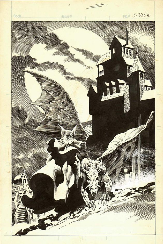 House of Mystery page by Bernie Wrightson