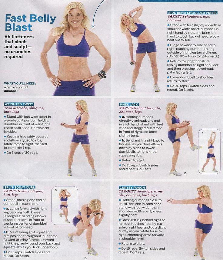 Fast belly blast