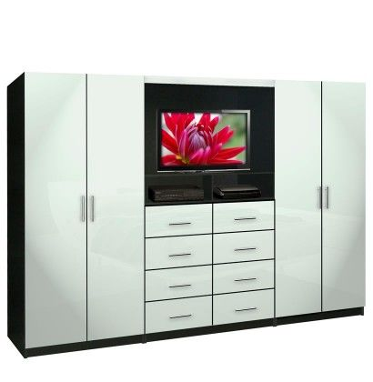 aventa tv wall unit for bedrooms free standing bedroom wardrobe unit - Bedroom Storage Units For Walls