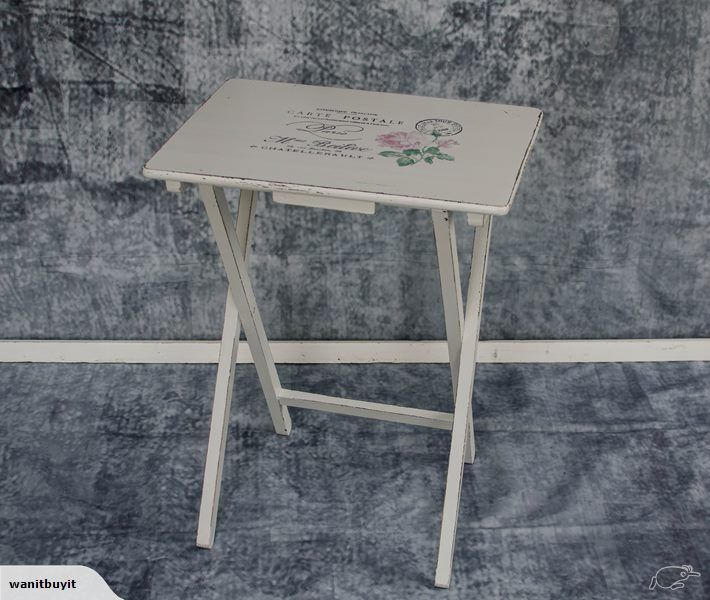 FOLD UP TABLE - FRENCH STYLE - SHABBY CHIC (A) | Trade Me