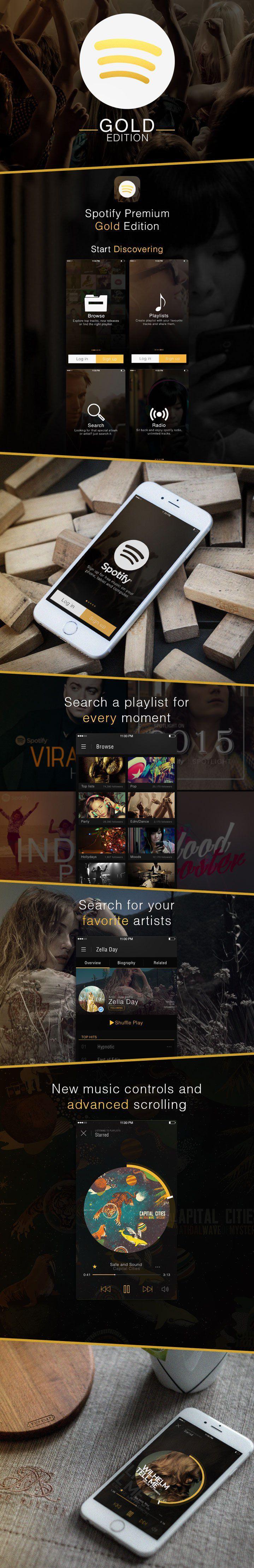 App ui kit  Music app