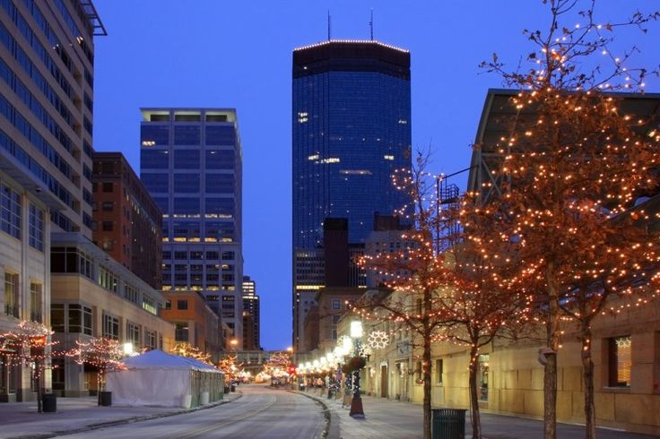 4. Christmas Market | Holidazzle Village Location | Minneapolis, Minn.  Minneapolis's newest holiday tradition has an ice rink, sled dog demonstrations and glass blowing. Come on the themed international days which showcase entertainment, food and craft products from Minneapolis's ethnically diverse population.