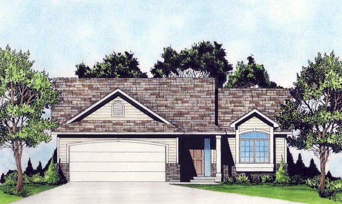 Traditional House Plan 62629 Traditional Cars And House