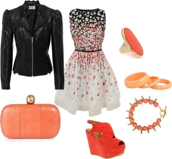 Sassy night on the town, created by courtney-cason-hathaway on Polyvore
