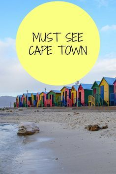 15 must see sights in Cape Town South Africa!