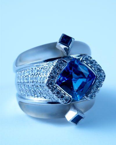 C Diamond Ring