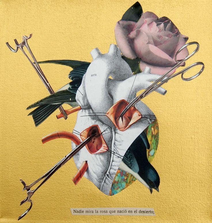 Analogue collage by Ignacio Rivas, Argentina