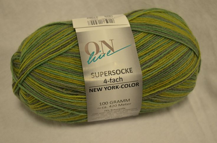 Online Supersocke, New York Color 1625