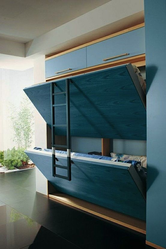 built-in murphy bed.AWESOME Time out- can this be done in the play room?! Possible in stead of the couch kids area...?