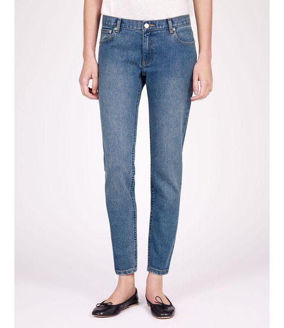 A.p.c. Woman Mid-rise Slim-leg Jeans Black Size 24 A.P.C. B7sw7NM