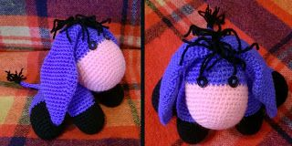 Maetel's crochet: Asinello blu #amigurumi donkey #pattern #patterns #amigurumi asino #donkey #donkey amigurumi #amigurumi asino #amigurumi asinello #crochet #crochet donkey #crochet amigurumi #asinello
