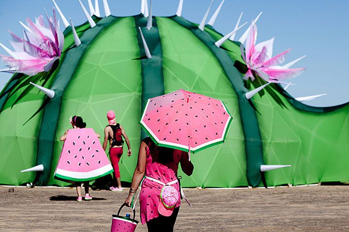Watermelon Fever at Afrikaburn Festival 2011 - South Africa.