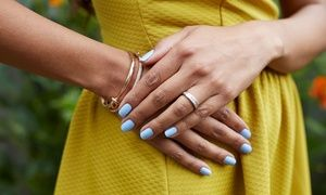 Groupon - One or Two Shellac Manicures or One Spa Mani-Pedi at Day Lily Hair and Nail Salon (Up to 32% Off) in Shops at Galleria. Groupon deal price: $34