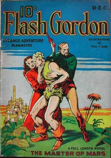 """Flash Gordon is a sci-fi hero from 1930s and an adventurer of the planet Mongo. He was dubbed """"King Of the Impossible"""" due to his fantastic feats such as thwarting his arch nemesis Ming the Merciless. Flash Gordon was published by King Features Syndicate originally. (Comic Vine) >> clic pic for more info"""