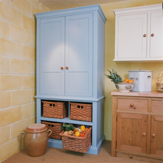 Something Blond Blue Kitchens: 25+ Best Ideas About Standing Pantry On Pinterest