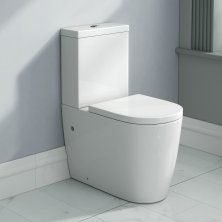 Lyon Close Coupled Toilet and Cistern inc Luxury Soft Close Seat