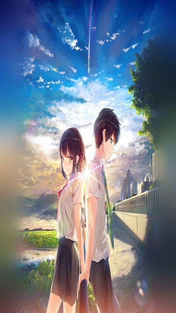 Iphone Xs Wallpaper Hd 2019 Nr439 Anime Your Name Anime Kimi