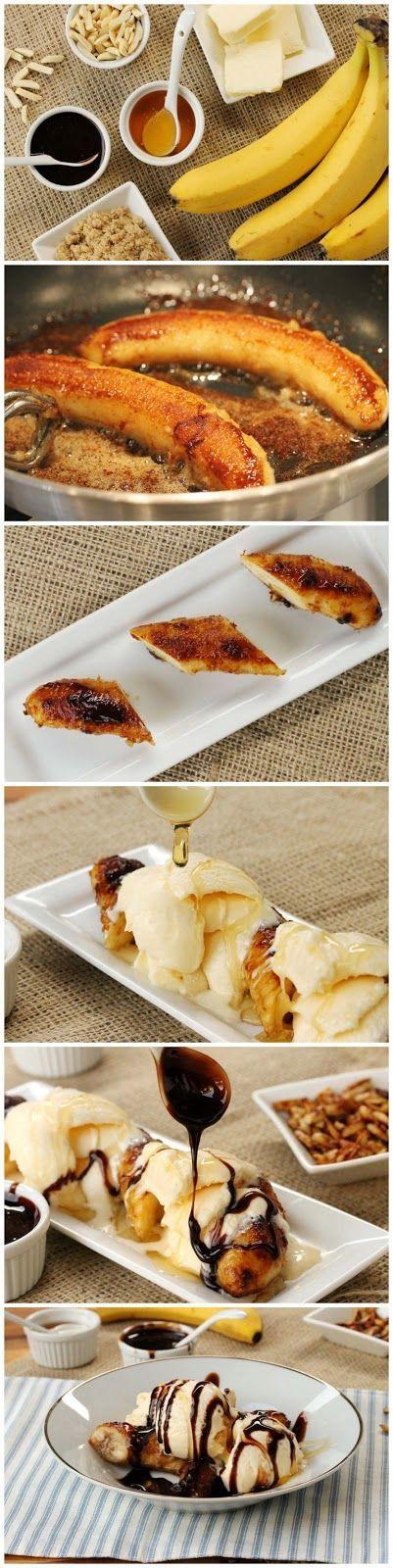 Brown Butter Banana Dessert Recipe @Nat Valik Gonzalez Mamá apunta!!!