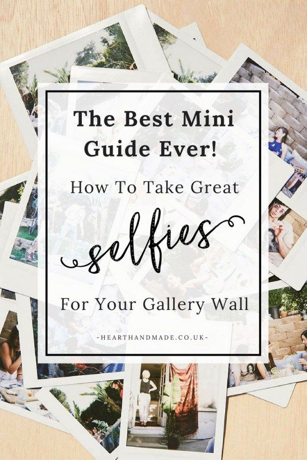 The best little mini guide ever! How to take great photos for your gallery wall. This guide will help you figure out the best way to express yourself through photography, which aspects to consider, suggestions for ways to shoot and the best camera's for the job. Be confident and take pictures of YOU for your walls. Learn the best way to take a selfie to display.