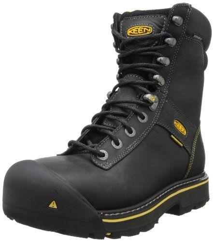 Keen Utility Men's Wenatchee 8-Inch Steel Toe Work Boot $79.34 (save $120.66)