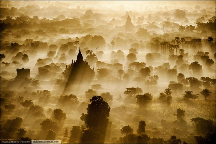 Incredibly Beautiful! Sunrise Bagan by Dima Chatrov, via 500px