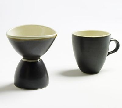 Coffee for one - directly in the cup