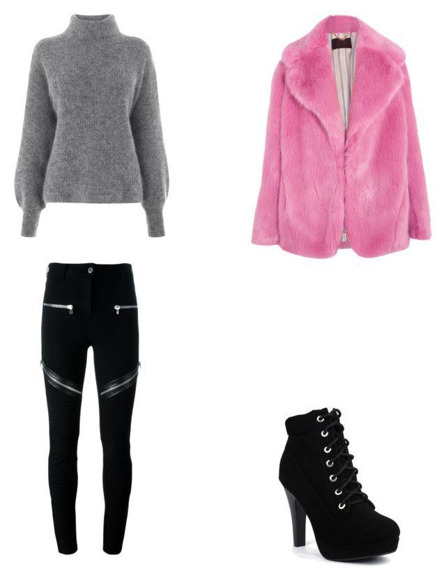 Bez tytułu #71 by wiki208 on Polyvore featuring moda, Warehouse, J.Crew and Givenchy