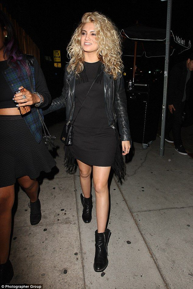 Popular spot: Justin's pal Tori Kelly was also spotted at The Nice Guy, with the up and co...