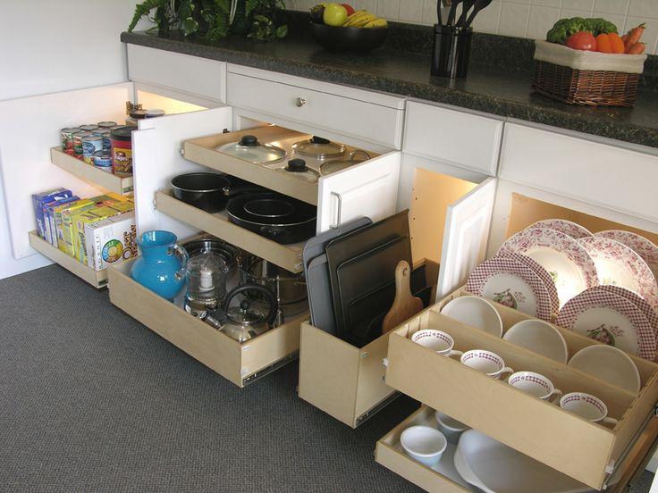 Kitchen Cabinet Inside Designs - Rooms