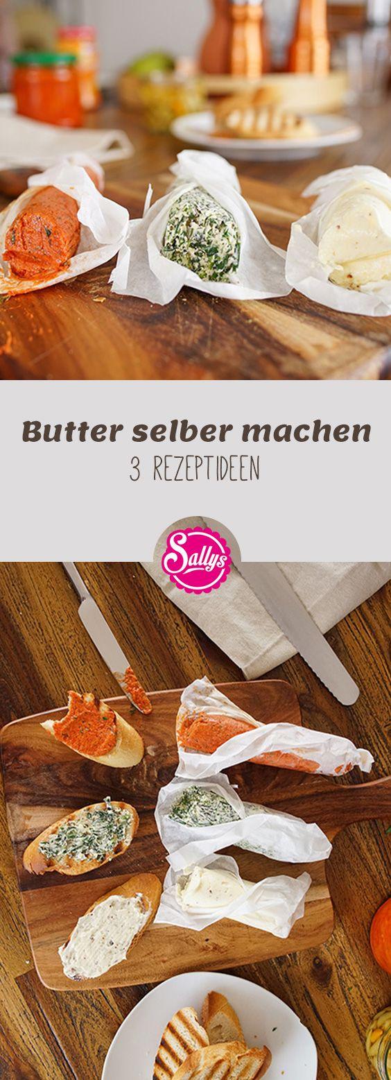 Eigene Butter, dass ist doch mal was? Leckere Grillbutter, Tomatenbutter und Kräuterbutter kannst du mit diesem Rezept selber machen!
