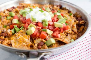 Easy Cheesy Burrito Skillet recipe