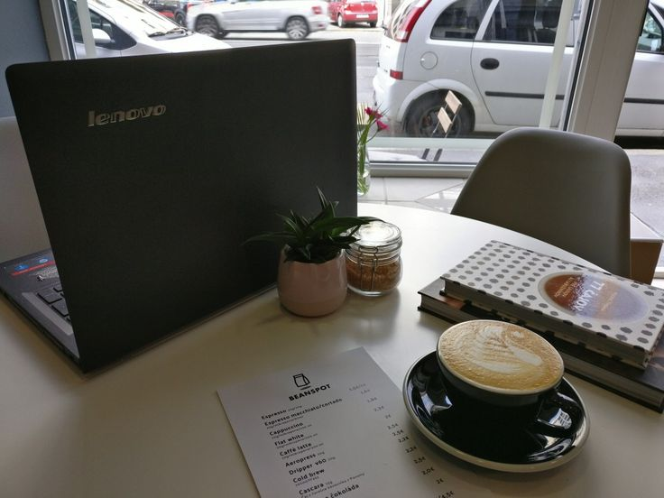 Cappuccino at Bean Spot Specialty Coffee Shop in Bratislava