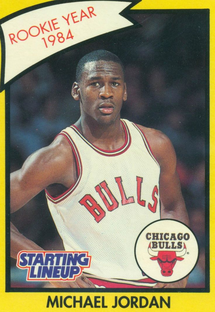 Michael Jordan Rookie Basketball Card Jym Workouts