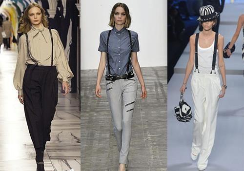 Все девушки должны одевать только джинсы с подтяжками