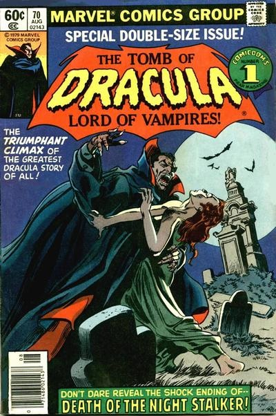 1979 - Anatomy of a Cover - Tomb of Dracula #70