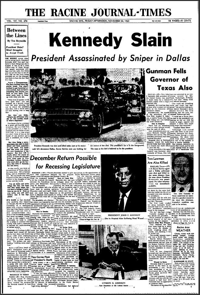 president kennedys unsolved murder essay The limousine carrying mortally wounded president john f kennedy why the infamous murder as adam gopnik did in a meandering new yorker essay.