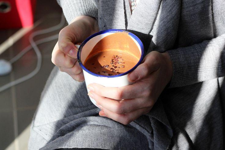 Maca Hot Chocolate Recipe