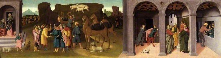 Biagio d'Antonio : The Story of Joseph, I (Fitzwilliam Museum - University of Cambridge  (United Kingdom - Cambridge)) 1446-1516 ビアージョ・ダントニオ