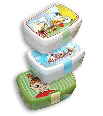 Moomin bento boxes