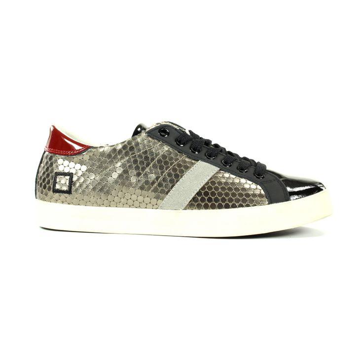 stijlvolle D.a.t.e. Sneakers & gympen A251 Zwart combi