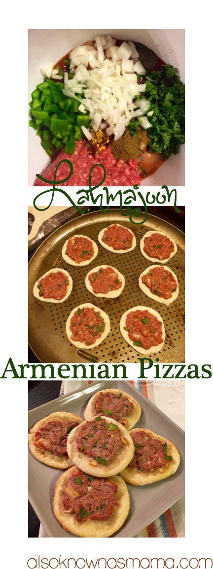 Easy Lahmajoon Armenian Pizza