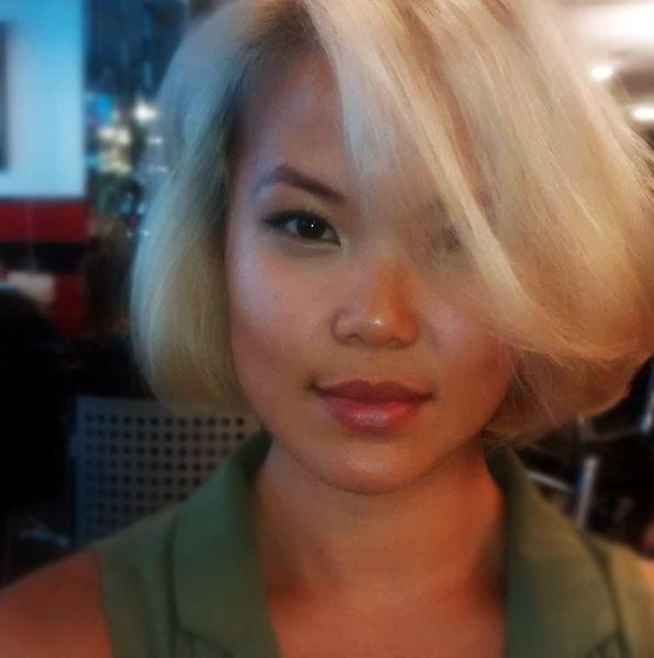 #TBT to this short, volumized blonde bob #HairTransformation  #KimberlyStylesHair #KimberlyStylesOggiSalon #YorkvilleHair #Yorkville #Toronto #TorontoHair #TorontoSalon