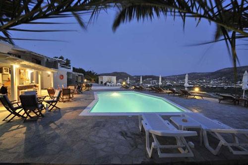 Krotiri Bay Hotel on Paros Island