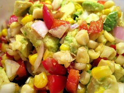 A Little Bite of Life: Super Bowl Recipes Sure to Please Your Crowd!   avocado corn salsa