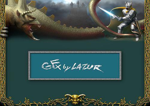 fantasy dragon and knight - Game artwork
