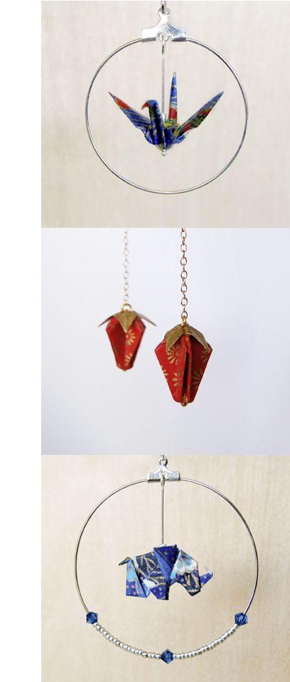 Bijoux origami