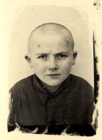 Baranow, Poland, A Jewish boy who perished in the Holocaust.