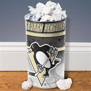 Pittsburgh Penguins Tapered Wastebasket