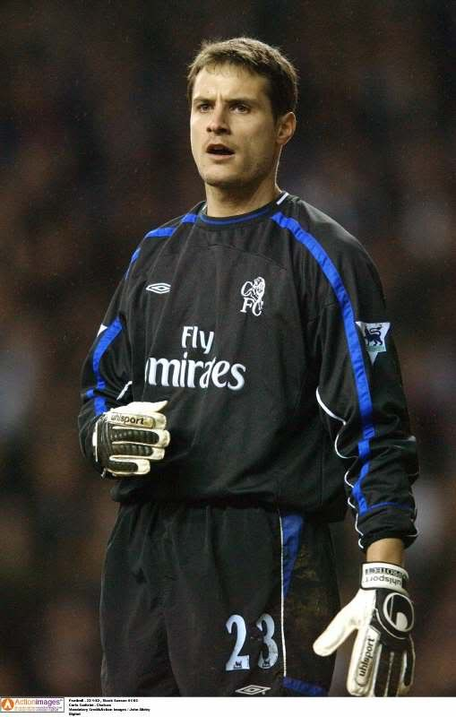Carlo Cudicini - fantastic goalkeeper and the best the club had since the CAT. First team appearances cut short by the arrival of Cech (replaced by a younger up and coming players seems to be the fate of recent Chelsea goalkeepers).